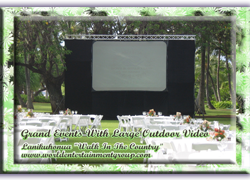 Video, Large Video Screens, Imaging, Editing
