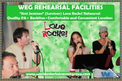 Recording and Rehearsal Facilities